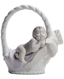 Lladró Newborn Girl Figurine