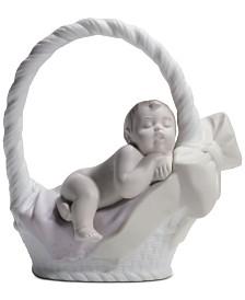 Lladró Newborn Girl Figurine