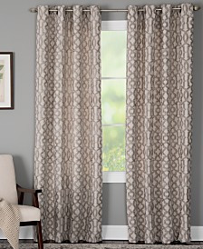 Miller Curtains Holland Geometric Window Panels