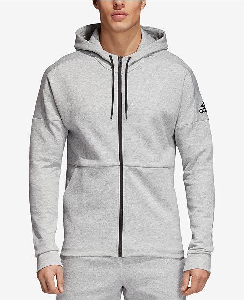 adidas hoodie in stadium