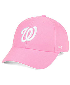 '47 Brand Washington Nationals Pink Series Cap