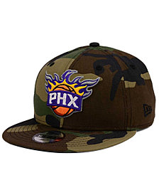 New Era Boys' Phoenix Suns Woodland Team 9FIFTY Snapback Cap