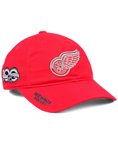 adidas Detroit Red Wings 100th Celebration Relaxed Adjustable Cap