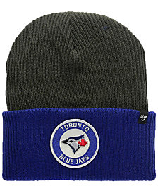 '47 Brand Toronto Blue Jays Ice Block Cuff Knit Hat