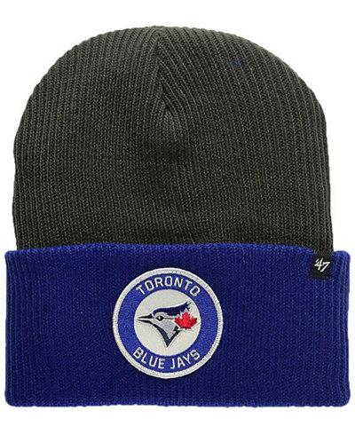 '47 Brand Toronto Blue Jays Ice Block Cuff Knit Hat