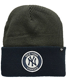 470434c16db  47 Brand New York Yankees Ice Block Cuff Knit Hat