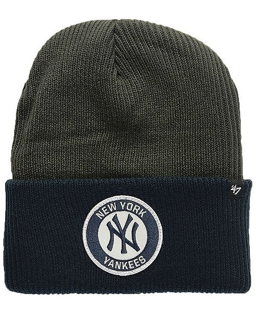 5c60850a8fb 47 Brand New York Yankees Ice Block Cuff Knit Hat   Reviews - Sports ...
