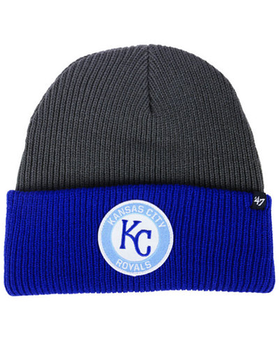 '47 Brand Kansas City Royals Ice Block Cuff Knit Hat