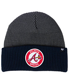 '47 Brand Atlanta Braves Ice Block Cuff Knit Hat