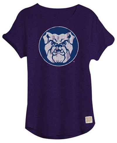 Retro Brand Women's Butler Bulldogs Slub Rolled Sleeve T-Shirt