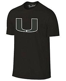 J America Men's Miami Hurricanes Tonal Pop T-Shirt