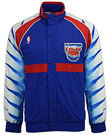 Mitchell & Ness Men's New Jersey Nets Authentic Warm Up Jacket