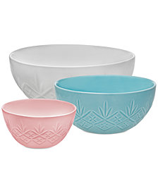 Godinger Dublin 3-Pc. Nesting Bowl Set