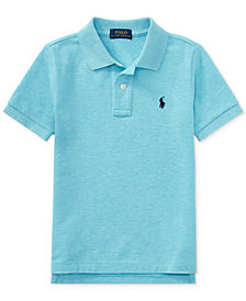 Ralph Lauren Mesh Cotton Polo, Toddler Boys