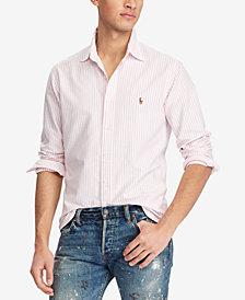 Polo Ralph Lauren Men's Big & Tall Classic-Fit Striped Sport Shirt