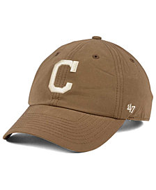 '47 Brand Cleveland Indians Harvest CLEAN UP Cap