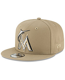 New Era Miami Marlins Fall Shades 9FIFTY Snapback Cap