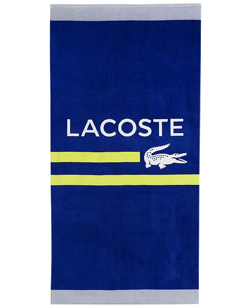 95aee1e2460fc Lacoste CLOSEOUT! Sprint Cotton Logo-Print 36