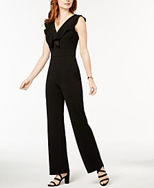 Ruffled Jumpsuit, Created for Macy's