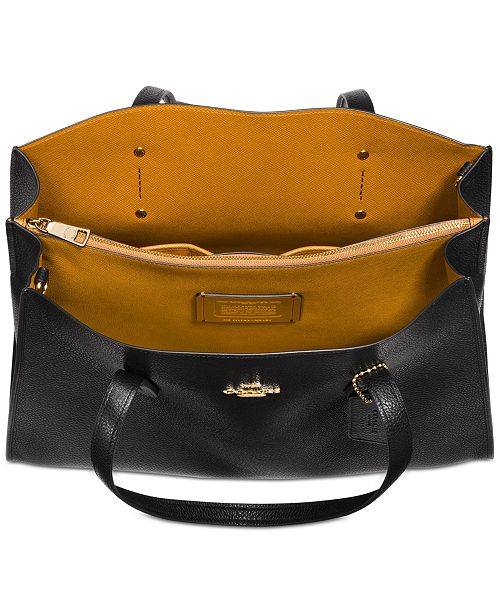 7240e5bd Charlie Medium Carryall in Pebble Leather