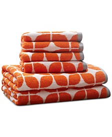 Intelligent Design Lita Cotton 6-Pc. Geometric Jacquard Towel Set