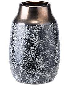Zuo Stoneware Metal Large Vase