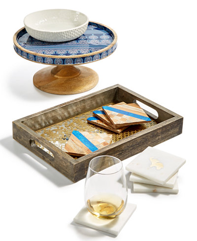 Thirstystone Mixed Material Serveware Collection
