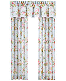 "Piper & Wright Stella 84"" x 100"" Floral Print Window Panel Pair"