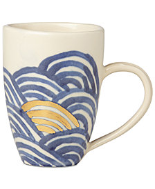 Lenox-Wainwright Pompeii Blu Sea Mug, Created for Macy's