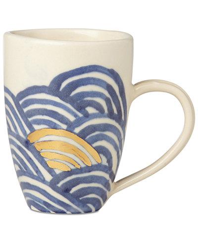 Crafted by Wainwright Pompeii Blu Sea Mug, Created for Macy's