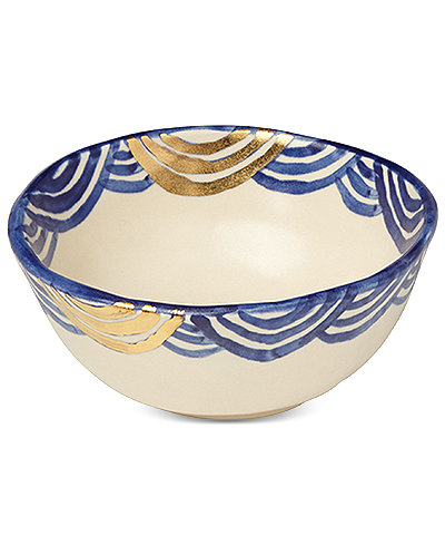 Crafted by Wainwright Pompeii Blu Sea Cereal Bowl, Created for Macy's