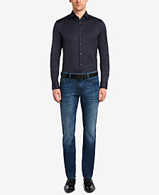BOSS Men's Regular/Classic-Fit 11-oz. Stretch Cotton Jeans