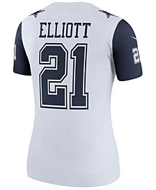 Nike Women's Ezekiel Elliott Dallas Cowboys Color Rush Legend Jersey