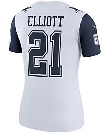 Nike Women's Ezekiel Elliott Dallas Cowboys Color Rush Legend Jersey