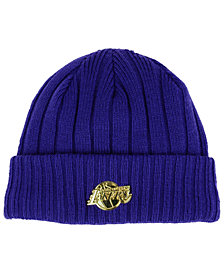 New Era Los Angeles Lakers Badge Slick Cuff Knit