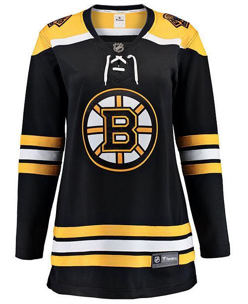 Fanatics Women s Boston Bruins Breakaway Jersey - Sports Fan Shop By ... 6bde171fd