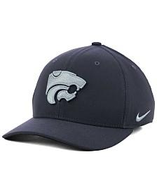 Nike Kansas State Wildcats Anthracite Classic Swoosh Cap