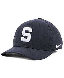 Nike Michigan State Spartans Anthracite Classic Swoosh Cap