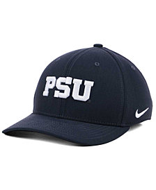 Nike Penn State Nittany Lions Anthracite Classic Swoosh Cap