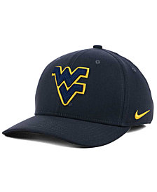 Nike West Virginia Mountaineers Anthracite Classic Swoosh Cap