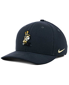 Nike Wake Forest Demon Deacons Anthracite Classic Swoosh Cap