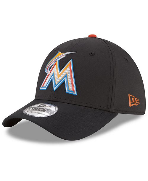 New Era Miami Marlins Batting Practice 39THIRTY Cap - Sports Fan ... 8259f8fcf6c0