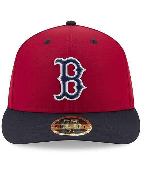 ... New Era Boston Red Sox Low Profile Batting Practice Pro Lite 59FIFTY  Fitted Cap ... 6a96c31d1f0