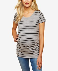 BumpStart Maternity Ruched T-Shirt