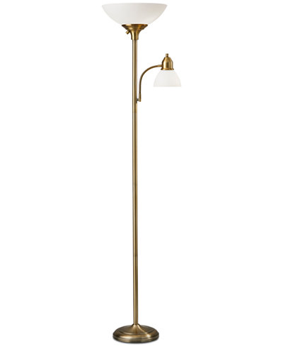 Adesso glenn combo floor lamp lighting lamps home macys adesso glenn combo floor lamp aloadofball Gallery