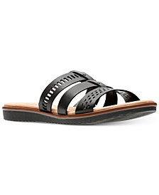 Clarks Collection Women's Kele Willow Sandals