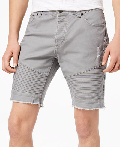 American Rag Men's Moto Shorts, Created for Macy's