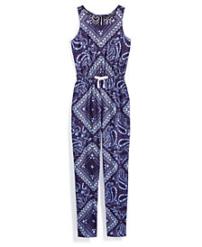 Nowadays x Bailee Madison Printed Jumpsuit, Big Girls & Juniors