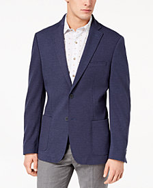 Bar III Men's Slim-Fit Stretch Knit Sport Coat, Created for Macy's