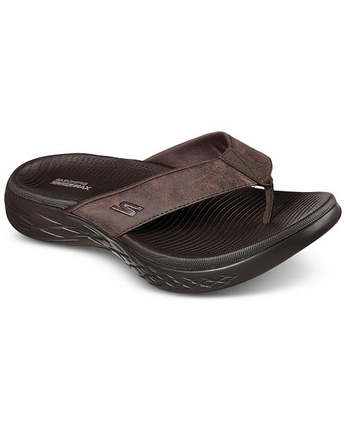 6d39283a5293 ... Skechers Men s On The Go 600 - Seaport Athletic Flip-Flop Thong Sandals  from Finish ...